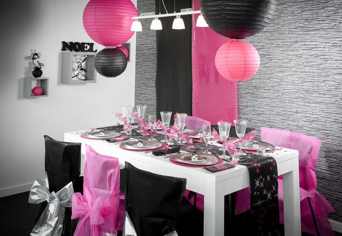 deco anniversaire adulte chic. Black Bedroom Furniture Sets. Home Design Ideas