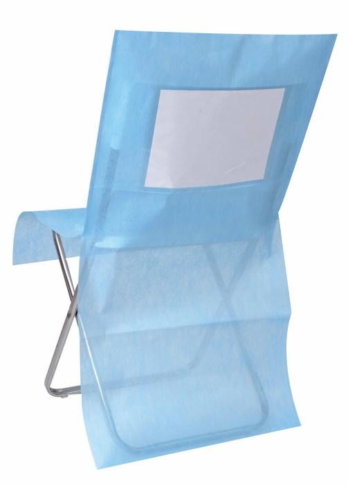 SANTEX 3619 8, Lot de 10 Housses de chaise personnalisées , turquoise