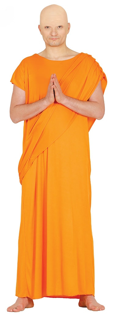 Adulte Hare Krishna moine costume robe fantaisie