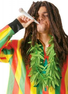 Collier feuilles Marijuana