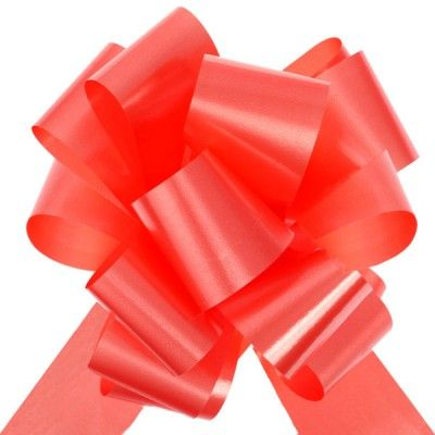 Sachet 10 Grands noeuds, rouge