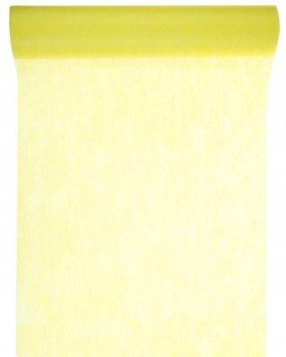 CHEMIN DE TABLE en tissu non tissé - Jaune