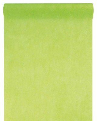 CHEMIN DE TABLE en tissu non tissé - Vert anis