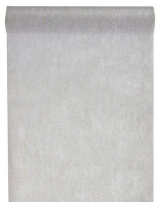 CHEMIN DE TABLE en tissu non tissé - Gris