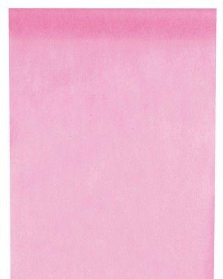 CHEMIN DE TABLE en tissu non tissé - Rose