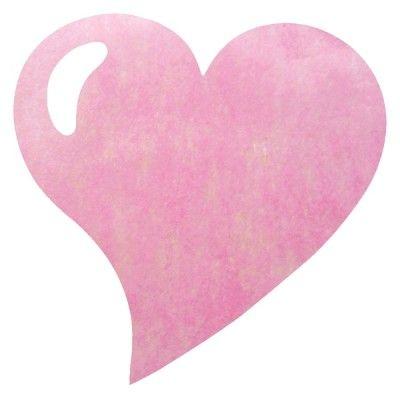 Paquet 50 SETS DE TABLE Coeur, rose