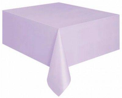Nappe plastique rectangle lilas