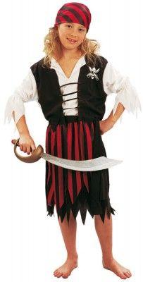 Déguisement Pirate fille 4-6 ans