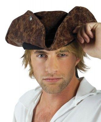 Chapeau de Pirate/Corsaire marron