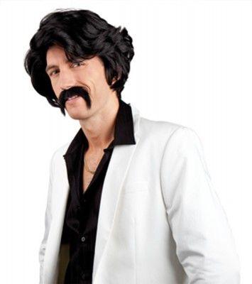 Perruque Mac (avec moustaches)