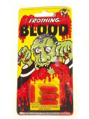 Capsules de sang par 4