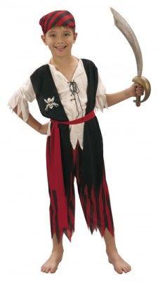 Déguisement pirate 4-6 ans