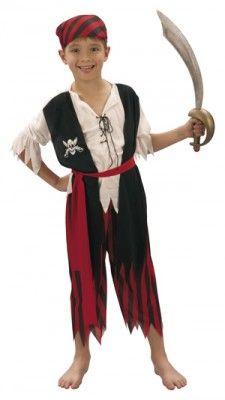 Déguisement pirate 7-9 ans