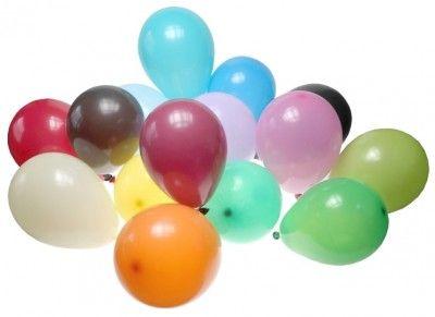 Sachet 25 ballons Opaques 25cm, Multicolore 25cm