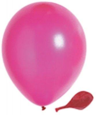 100 ballons nacrés, 30 cm, fuchsia