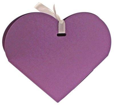 Ballotin coeur lilas