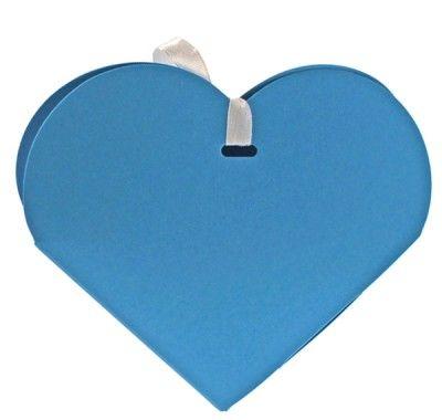 Ballotin coeur turquoise