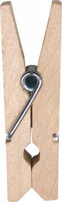 Sachet de 12 PINCES Naturel - 3,5cm