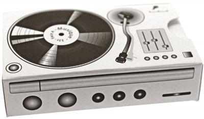 Ballotin carton Platine-disque vinyle