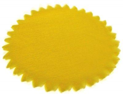 Sachet de 50 tulles cristal jaune
