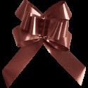 Sachets 20 noeuds POUR SERVIETTE, chocolat