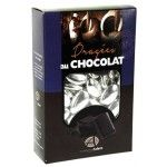 Sachet 500g de dragées CHOCOLAT - Argent brillant
