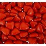 POCHON 500g mini-COEUR, 500g Rouge brillant
