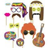 Cabine photo costume hippie