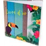 LIVRE d'or Tropiques 40 pages