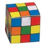 Ballotin carton jeu rubiks Cube Couleurs
