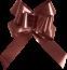 Sachets 20 petits noeuds POUR SERVIETTE, chocolat