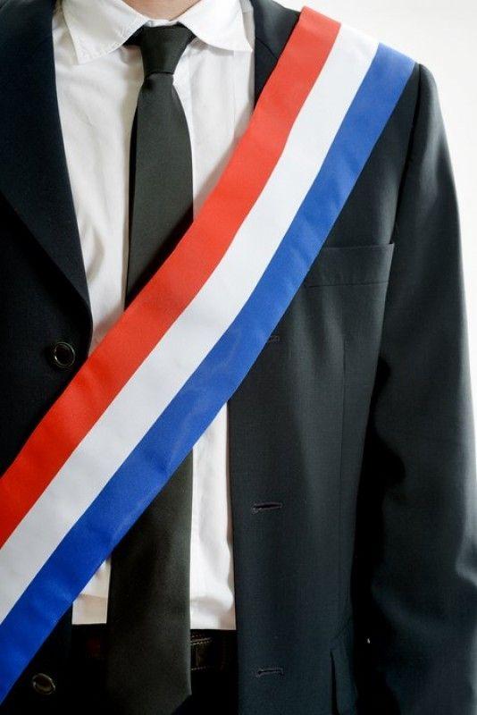Echarpe du Maire de 8 cm x 2 mètres, tricolore FRANCE 299eac783e8