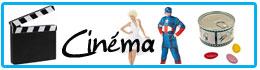 Décoration et déguisements thème cinéma
