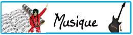 Déguisements et décoration thème musique