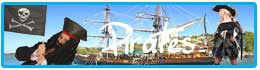 Déguisements, accessoires et décorations thème pirate
