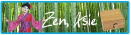 Déguisements et décorations thème zen et asie