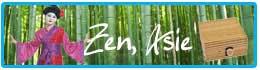 Déguisements et décorations thème zen et asie